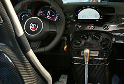 Abarth 695 biposto - Interieur