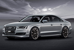 Abt Sportsline A8 Facelift - Frontansicht