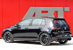 Abt Golf R mit 400 PS - Heckansicht