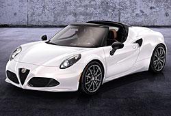 Alfa Romeo 4C Cabrio als Vorserienversion