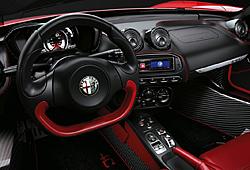 Alfa Romeo 4C Spider - Cockpit