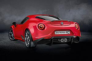 Alfa Romeo 4C Coupé Rosso Forte