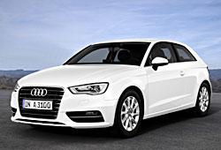 Audi A3 1.6 TDI ultra in Gletscherweiß - Frontansicht