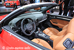 Audi A3 Cabriolet - Innenraum