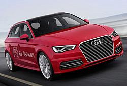 Audi A3 e-tron seitliche Frontansicht