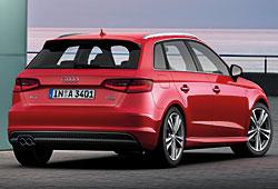 Audi A3 Sportback Heckansicht S-Line