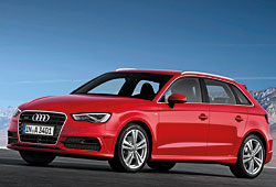 Audi A3 Sportback S-Line Frontansicht