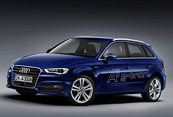 Audi A3 Sportback g-tron seitliche Frontansicht