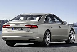 Audi A8 - Heckansicht