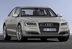 Audi A8 - Frontansicht