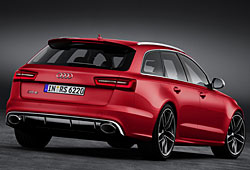 Audi RS6 Avant Heckansicht