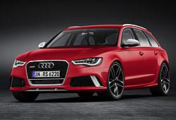 Audi RS6 Avant Frontansicht