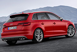 Audi S3 Sportback Heckansicht