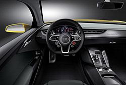 Audi Sport Quattro Concept - Cockpit