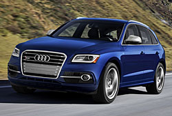 Audi SQ5 US-Modell Frontansicht