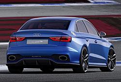 Audi A3 Clubsport Quattro Concept - Heckansicht