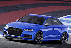 Audi A3 Clubsport Quattro Concept - Frontansicht