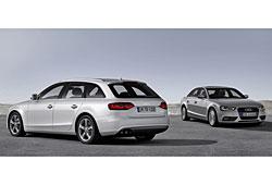 Audi A4 und A4 Avant 2.0 TDI ultra in Cuveésilber