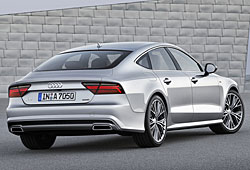 Audi A7 Sportback - Heckansicht
