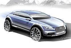 Audi Allroad Concept - seitliche Frontansicht