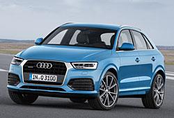Audi Q3 - Frontansicht