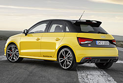 Audi S1 - Heckansicht