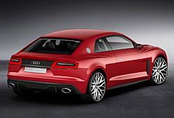 Audi Sport Quattro Laserlight Concept - Heckansicht