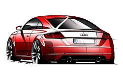 Audi TT - Heckansicht