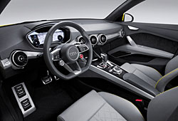Audi TT Offroad Concept - Cockpit