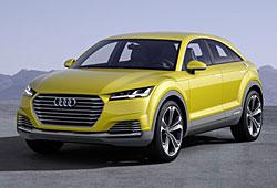 Audi TT Offroad Concet - Frontansicht