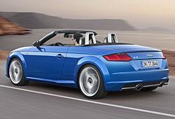 Audi TT Roadster - Heckansicht