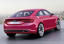 Audi TT Sportback Concept - Heckansicht
