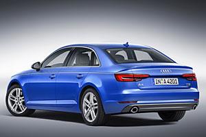 Audi A4 2.0 TFSI quattro - Heck