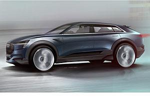 Audi e-tron Quattro Concept - Zeichnung