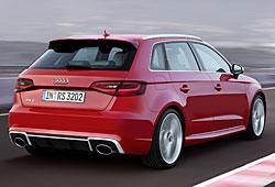 Audi RS3 Sportback - Heckansicht