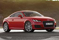 Audi TT Coupé -Frontansicht