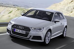 Audi A3 - Außenansicht in Florettsilber