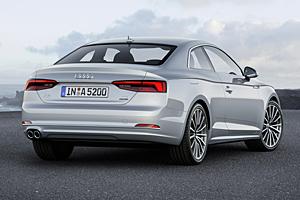 Audi A5  - Heckansicht