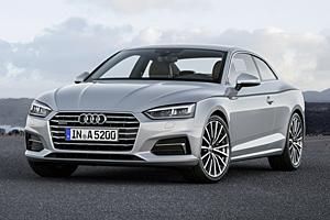 Audi A5 Coupé - Frontansicht