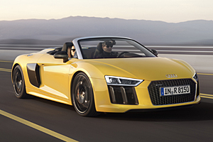 Audi R8 Sypder - Frontansicht