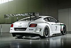 Bentley Continental GT3 - Heckansicht