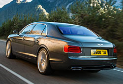 Bentley Flying Spur - Heckansicht
