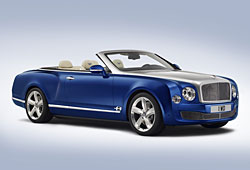 Bentley Grand Convertible - Seitenansicht