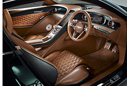 Bentley EXP 10 Speed 6 - Cockpit