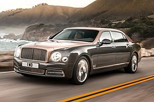 Bentley Mulsanne mit langem Radstand
