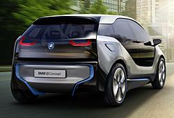 BMW i3 Heckansicht