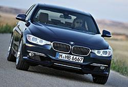 BMW 3er Limousine Frontansicht