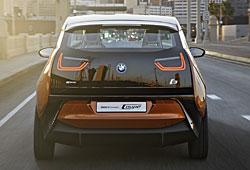 BMW i3 Coupe Concept Heckansicht