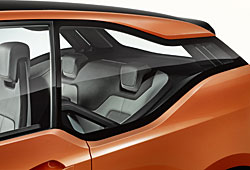 BMW i3 Coupe Concept Seitenfenstergrafik