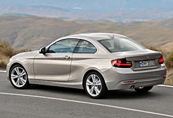 BMW 2er Coupe Modern Line - Seitenansicht